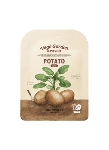 Skinfood  Vege Garden Potato Mask Sheet Renksiz